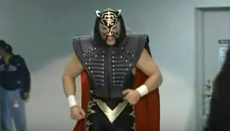 Oooo...Black Tigers have capes? I like it...