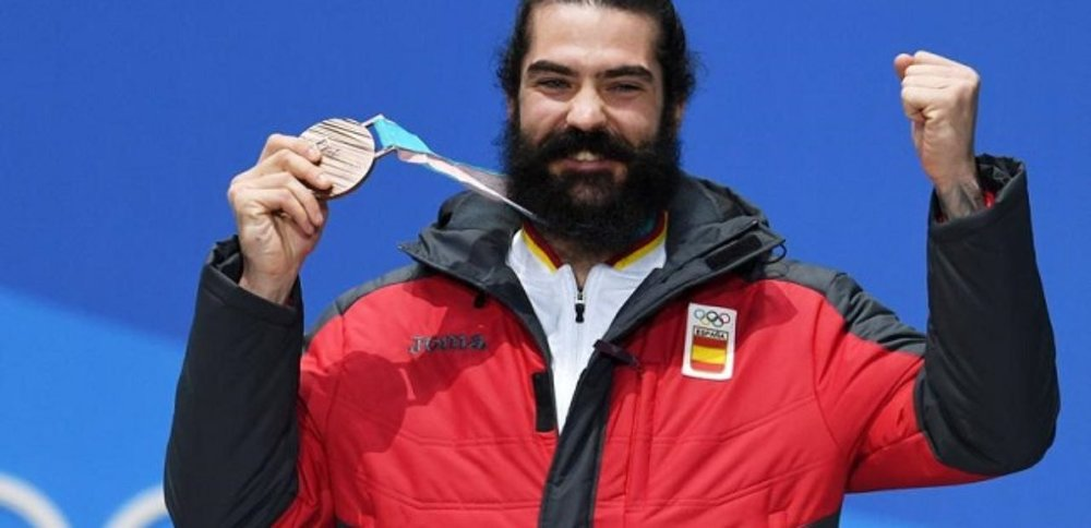 Snowboarder, lumberjack, conquistador from several centuries ago, Regino is all that is man.