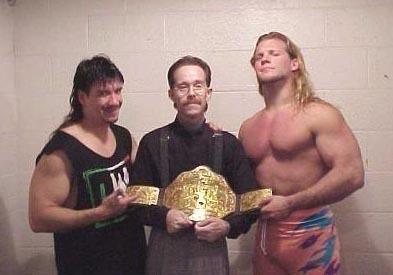 Hildebrand, with Eddie Guerrero & Chris Jericho