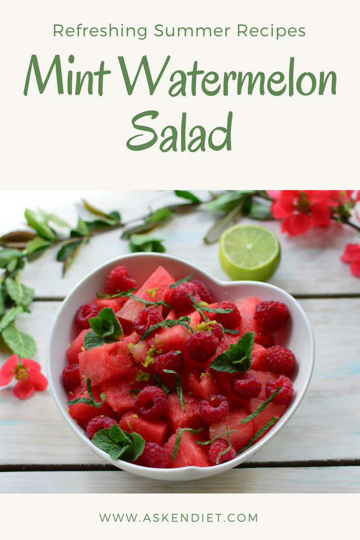 Mint Watermelon Salad