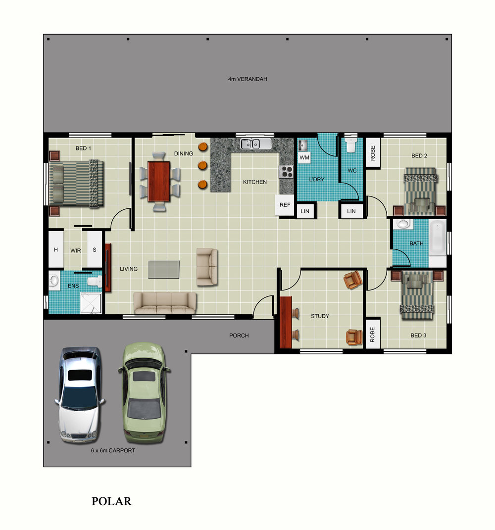 Polar Floor Plan
