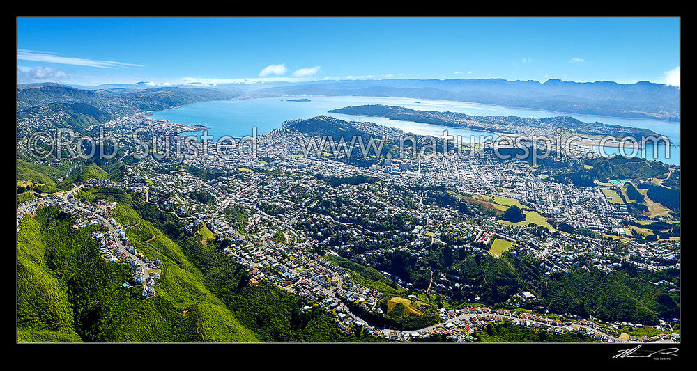 Pano of Wellington.