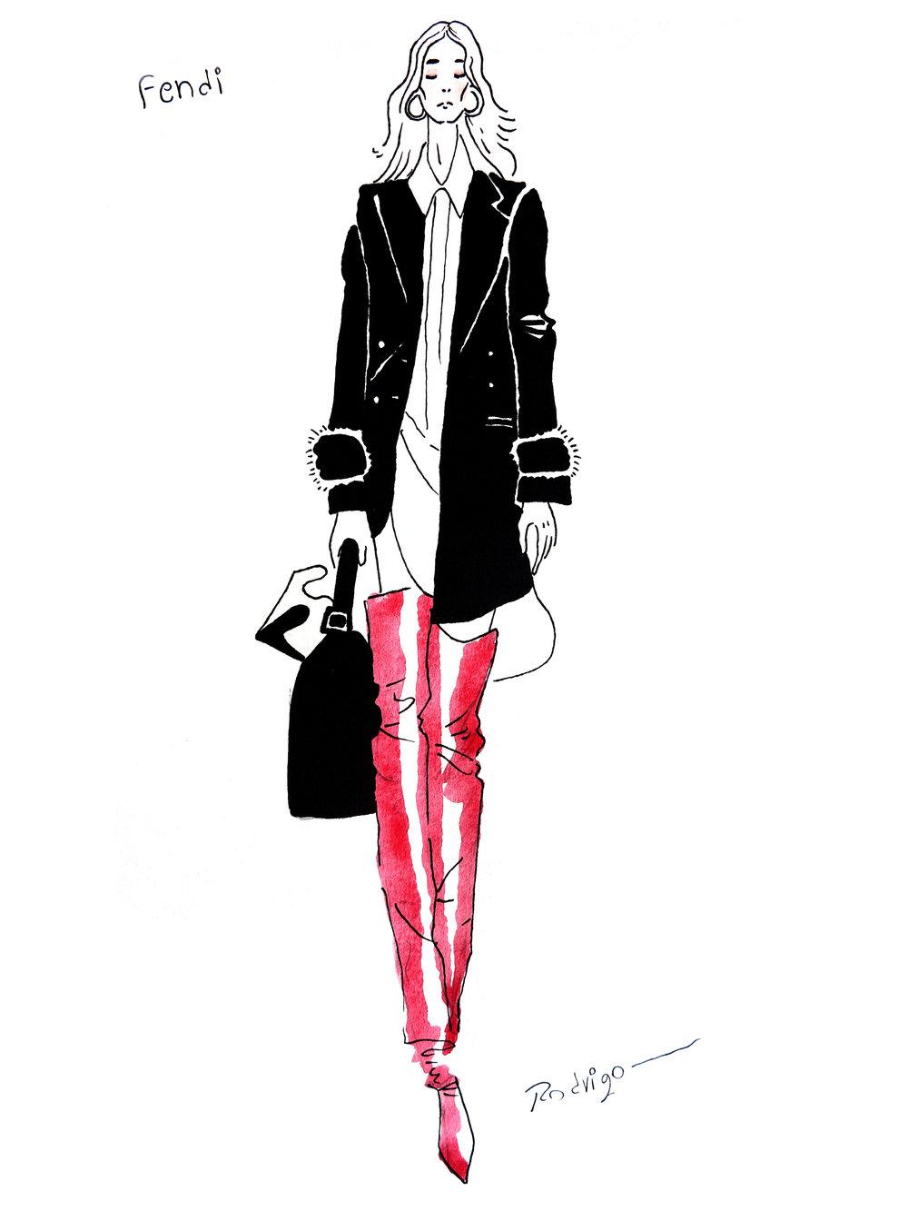 Ilustration by Rodrigo Del Castillo