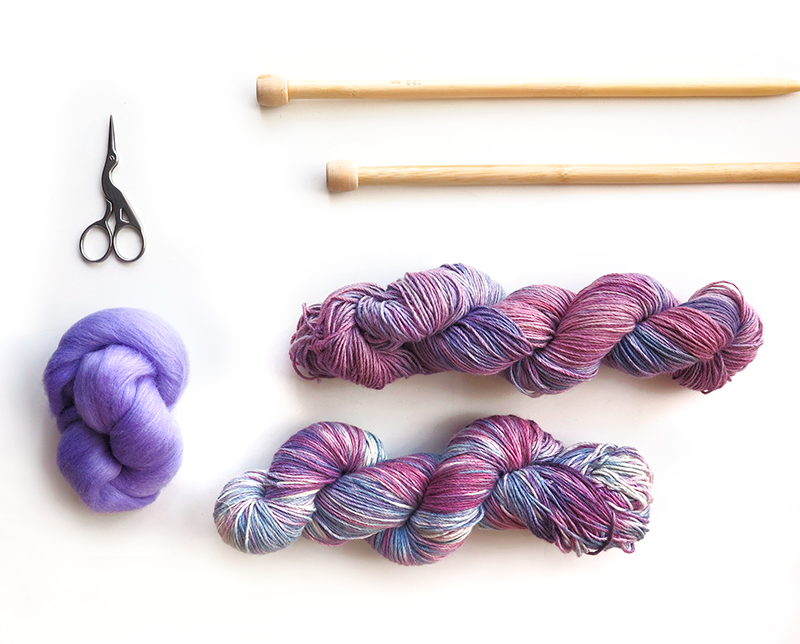 Knitting supplies and fibers