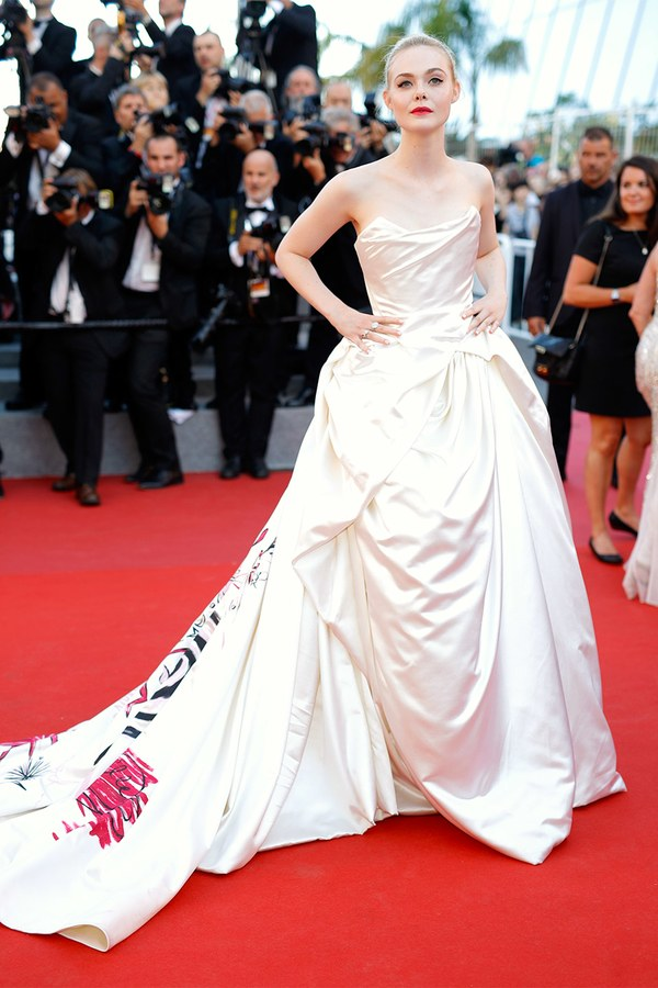 Elle Fanning  By Dominique Charriau/WireImage.