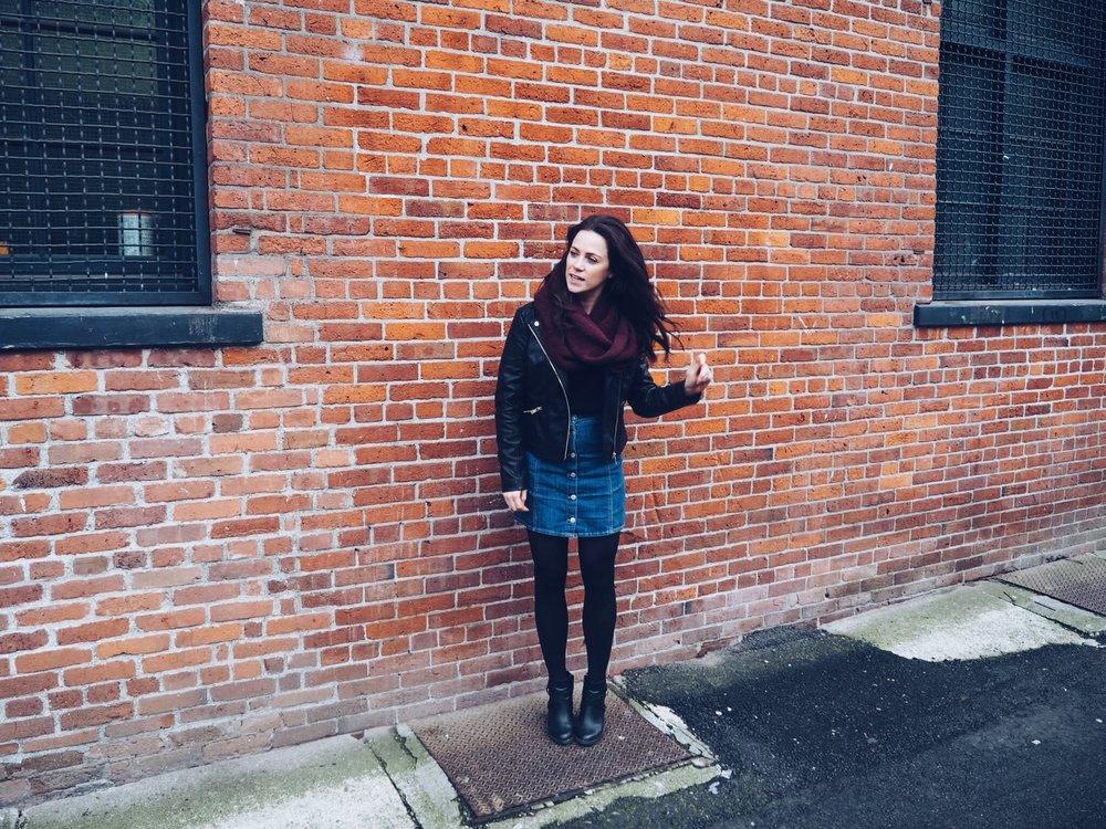 Gastown - brick wall