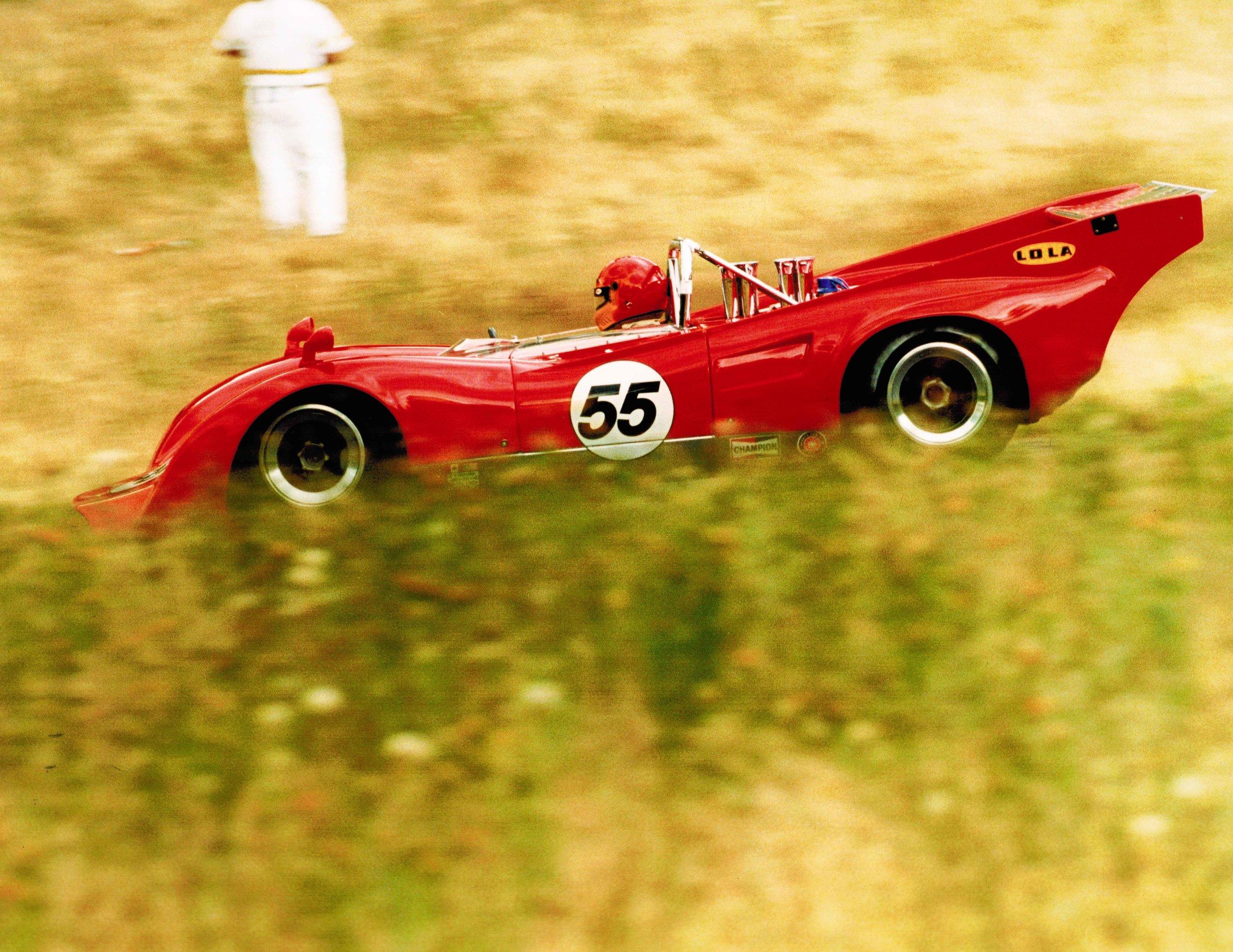 1969 Lola T162 Can Am Race Car — Northwest European