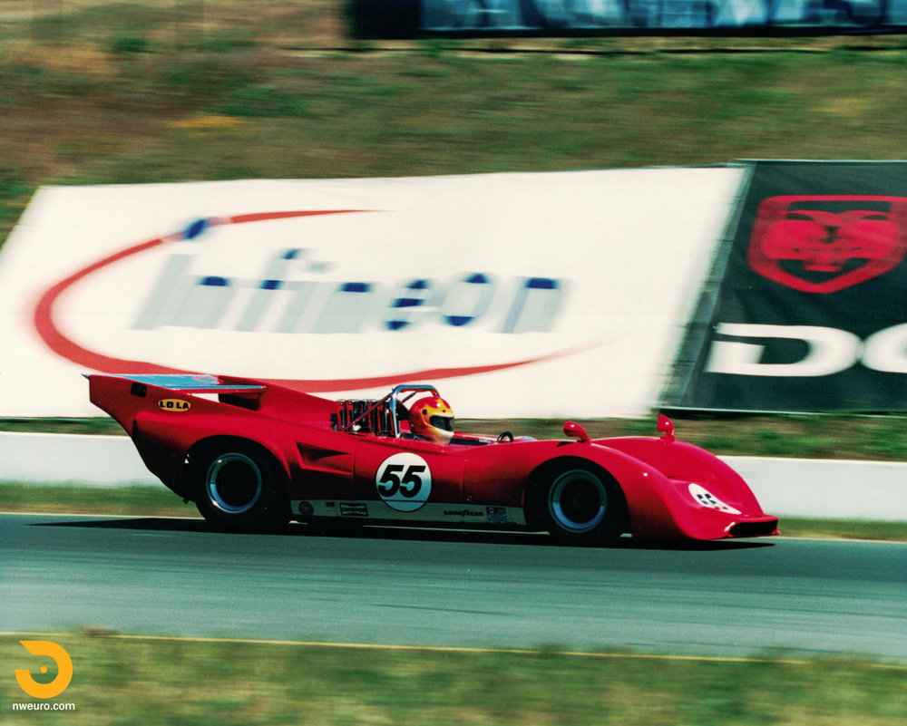1969 Lola T162 Can-Am Race Car — Northwest European