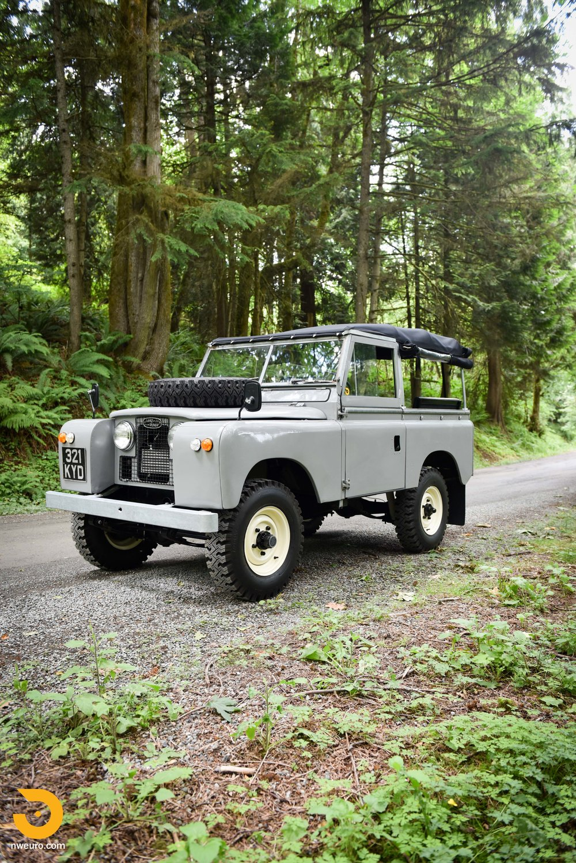1962 Land Rover Series Iia Northwest European Belt Routing 25