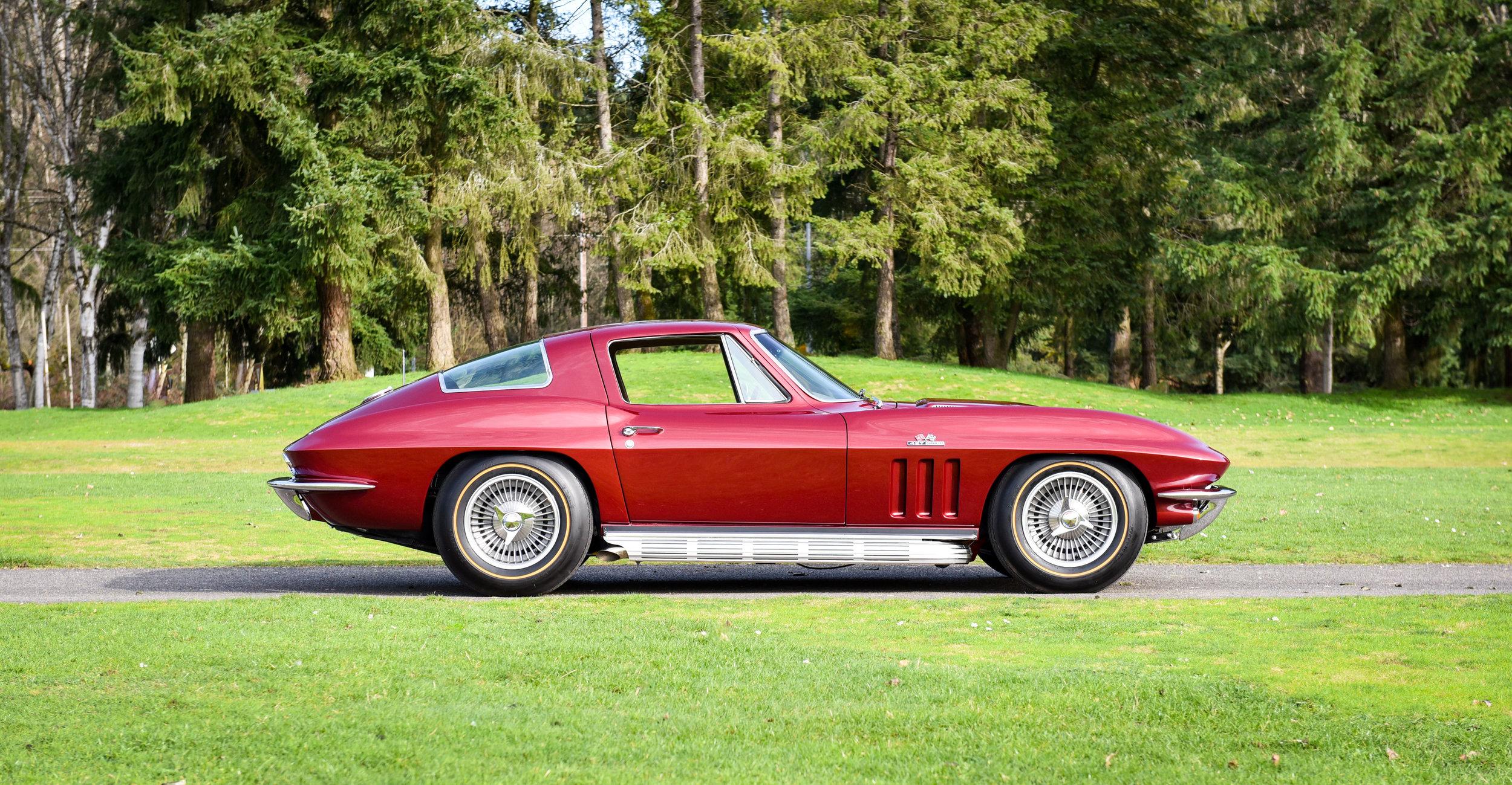 1966 Chevrolet Corvette 427 Coupe Northwest European