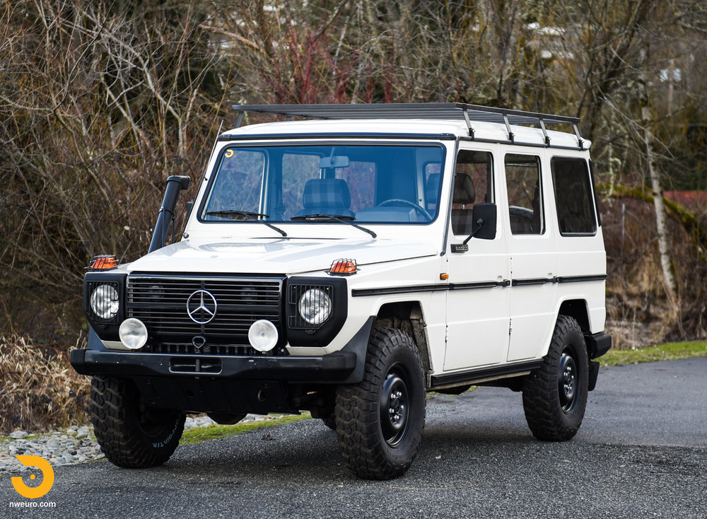 1981 Mercedes Benz 300gd Northwest European