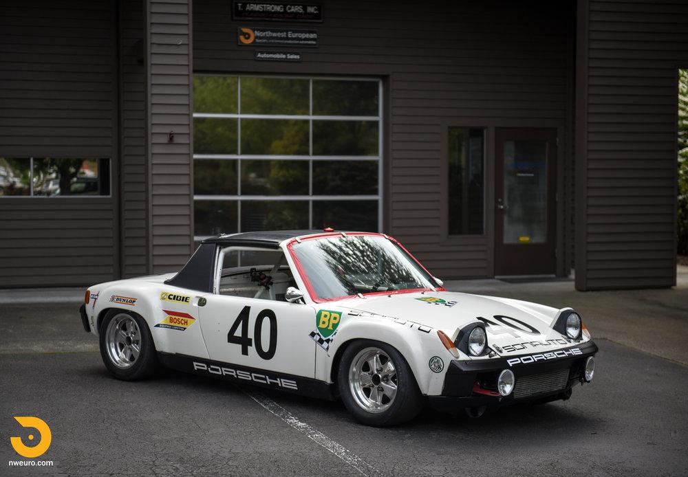 1970 Porsche 914 6 Race Car Northwest European