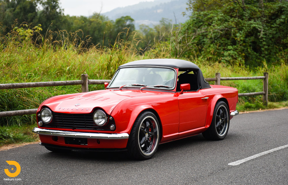 1963 Triumph Tr4 Northwest European