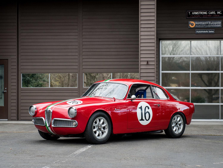 1963 Alfa Romeo Giulia Sprint 1600 Northwest European Series 1