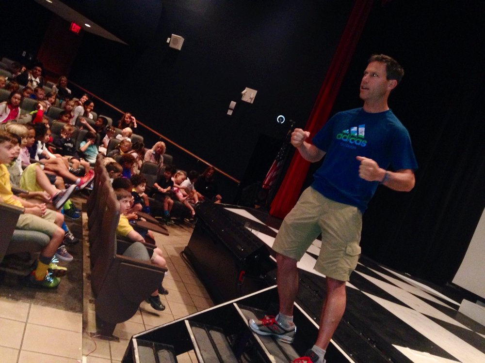 Trying not to bore the students in Naples, Florida as part of the Wellfit Institute