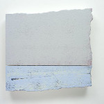 Knife in the Water,2013 Acrylic on prepared EPS panel 33x46x4cm $1,200