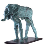 Untitled #2, 2012, bronze, 112 x 36 x 94 cm, $15,000