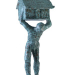 Untitled #3, 2012, bronze, 131 x 40 x 55 cm, $12,000