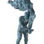 Untitled #4, 2012, bronze, 117 x 42 x 70 cm, $12,000