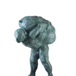 Untitled #5, 2012, bronze, 80 x 42 x 60 cm, $12,000
