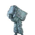 Untitled #12, 2012, bronze, 79 x 59 x 39 cm, $12,000