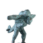 Untitled #13, 2012, bronze, 77 x 75 x 88 cm, $12,000