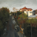 'Fading Light', oil on canvas, 30 x 40cm, $1,000
