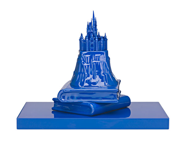 Michael Doolan, Prince's Castle, ceramic, wood and auto enamel, 31 x 40 x 25 cm, $5,800