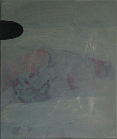 Joseph Daws, Untitled 21 (2012), oil on canvas, 71 x 61 cm