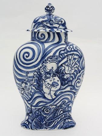 Shin Koyama, Deep Waves, 75 x 45 cm