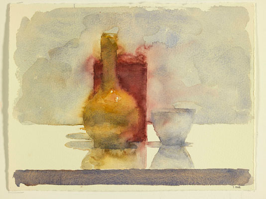 Jude Rae, WCSL 115 (2009), watercolour on rag paper, 54 x 63 cm framed