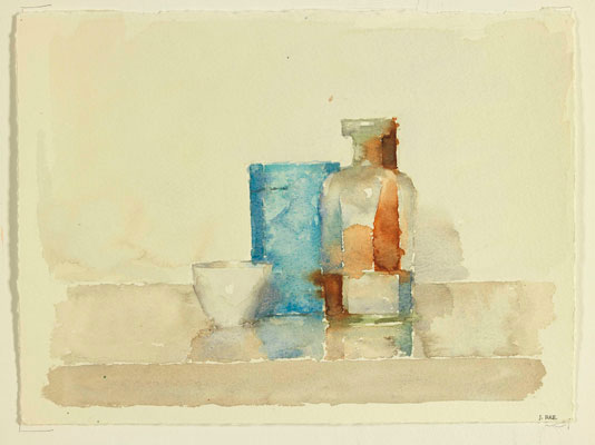 Jude Rae, WCSL 111 (2009), watercolour on rag paper, 54 x 63 cm framed