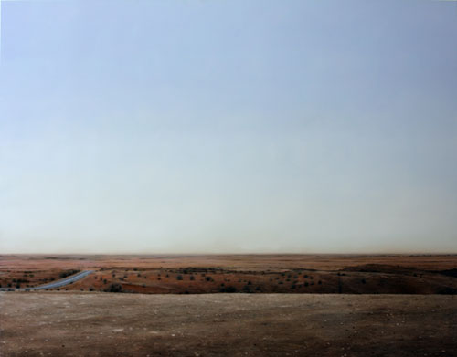 Juan Ford, Nobody is Necessary (2009), oil on linen, 168 x 213cm, $14,500