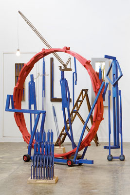 Stephen Hart, Frank (detail), Installation view, Artist's studio