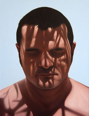 Juan Ford, Smother The Thought (2007), oil on linen, 66 x 51cm