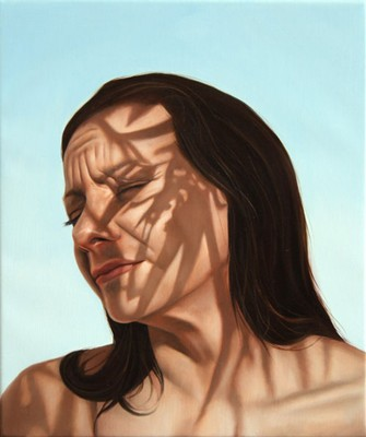 Juan Ford, A Radiant Equation #2 (2007), oil on linen, 25 x 30cm