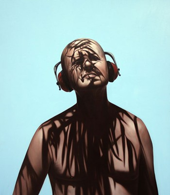 Juan Ford, Hear No Evil (2007), oil on linen, 122 x 107cm