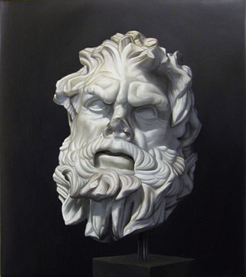 Juan Ford, Husk #6 (2006), oil on linen, 32 x 28cm