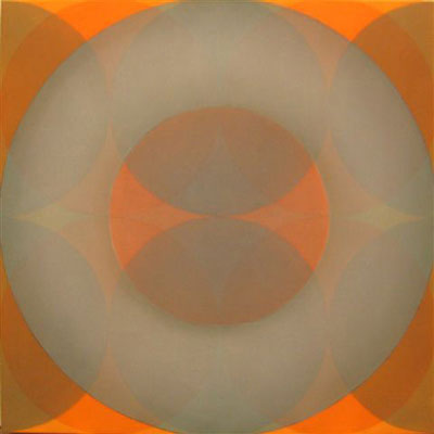 Daniel Mafe, Sweet Enlightenment (2004), acrylic on canvas, 120 x 120cm