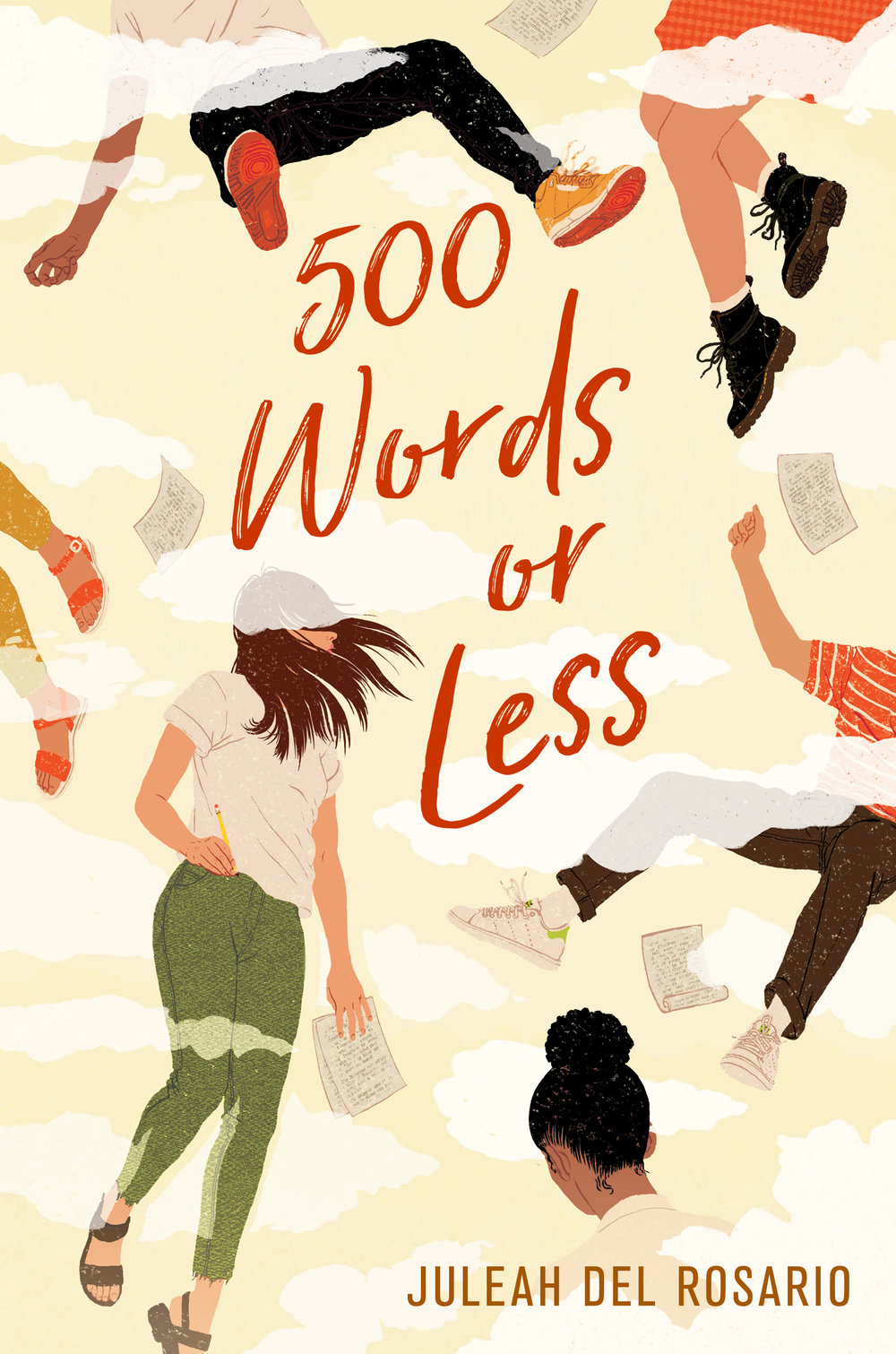 500 Words or Less - Nic Chen refuses to spend her senior year branded as the girl who cheated on her charismatic and lovable boyfriend. To redefine her reputation among her Ivy League–obsessed classmates, Nic begins writing their college admissions essays.But the more essays Nic writes for other people, the less sure she becomes of herself, the kind of person she is, and whether her moral compass even points north anymore.Provocative, brilliant, and achingly honest, 500 Words or Less explores the heartbreak and hope that marks the search for your truest self.Available through: Amazon, IndieBound, Barnes & NobleFind it at your libraryAdd it to Goodreads