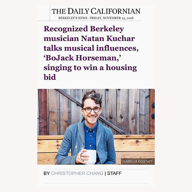 Yep, I confess... this article reveals the truth about the silver streak in my hair!🌪You can read it at the link in my bio. Thanks @dailycal for a super fun interview and article sharing about my dreams of more #joyful #creative and #humancentered ways to connect community. . . . . #thedailycalifornian #berkeley #berkeleyartist #berkeleyartists #bayareanews #crowdsinging #communitysinging #bojackhorseman #connectingcommunity #connectingcommunities #berkeleymusic #teachingartists #coffeeinamug #silverstreaks #greystreak #creativeteaching