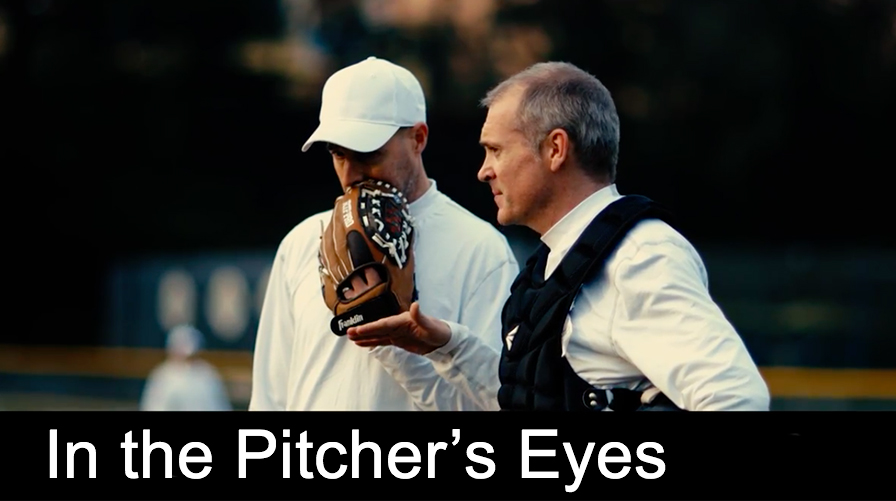 In the Pitcher's Eyes  When his wife gets pregnant, a semi-pro relief pitcher must quit his dreams and find a way to provide for his new family.   Roles: Lighting Technician