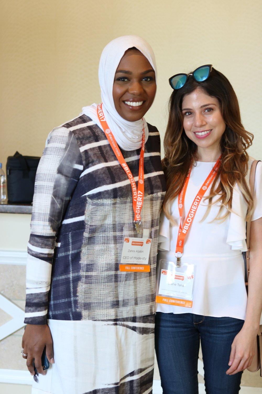 Zahra and Diane