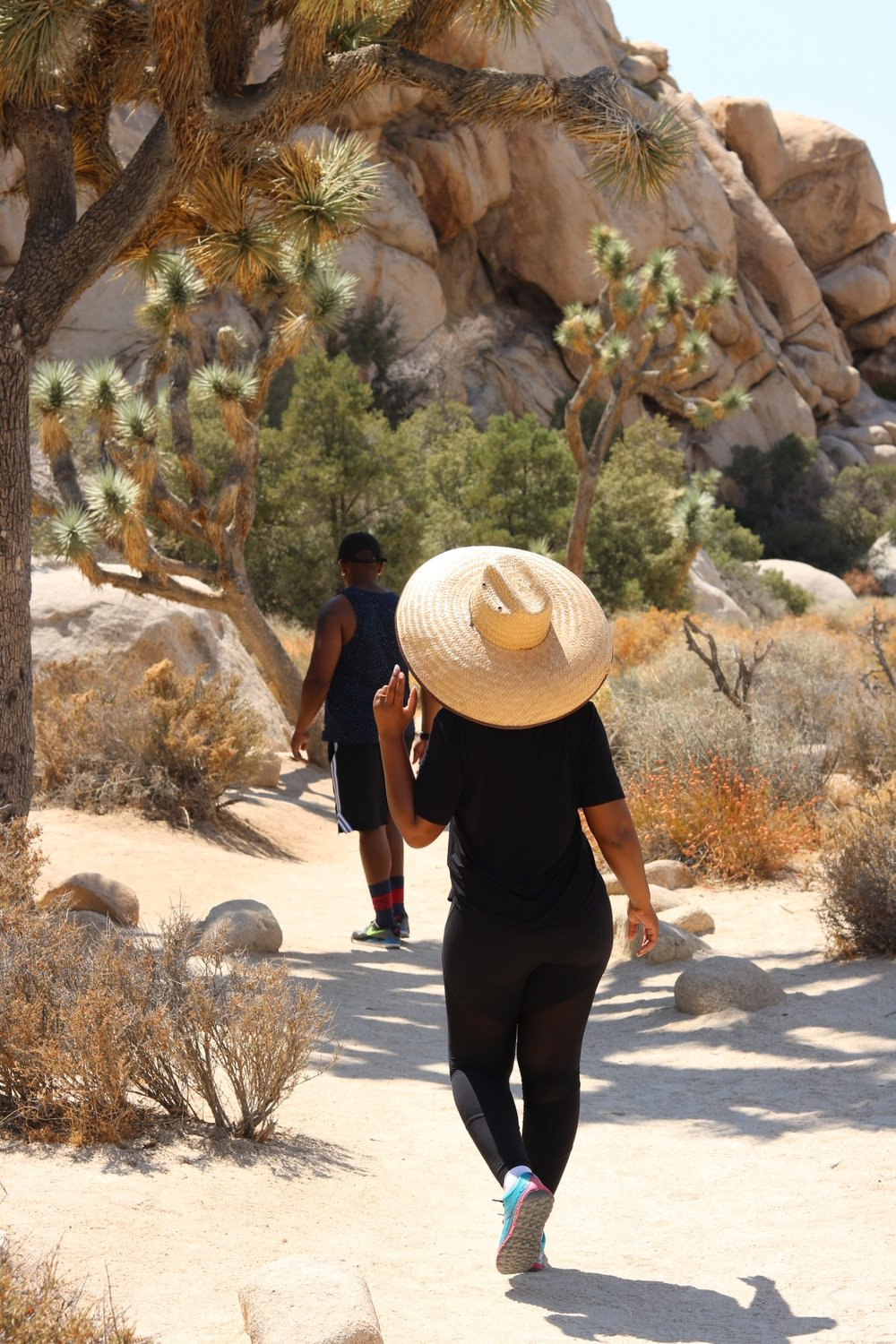 Hiking in Joshua Tree, California