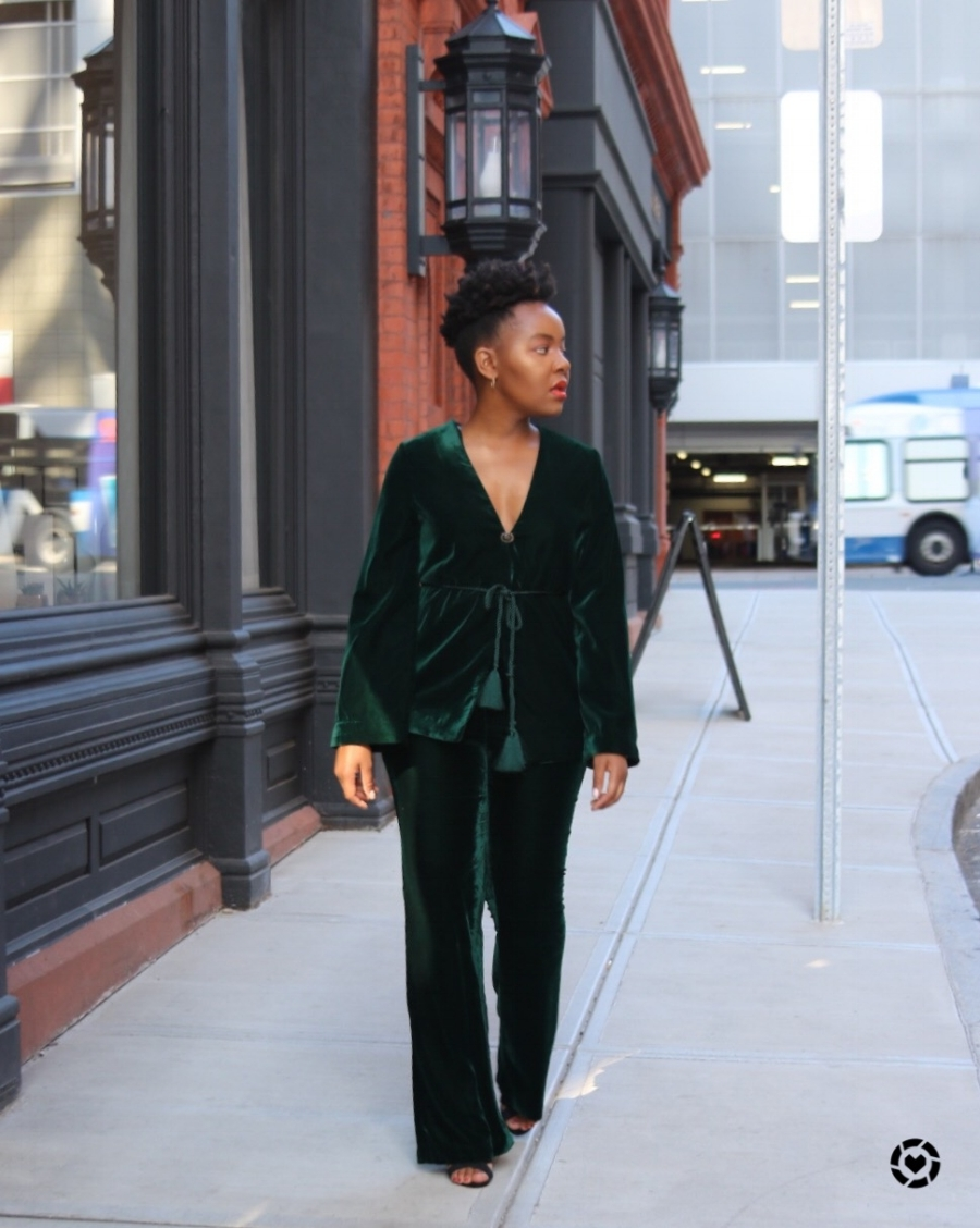What I'm Wearing:  Blazer  //  Trousers  //  Shoes