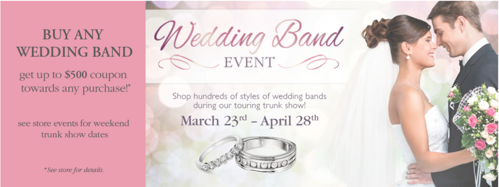 Michaels Jewelers Wedding Band Trunk Show