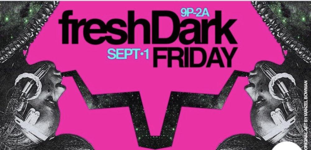 """freshDark Friday is a major kickoff for one of Houston's livest festivals, freshDark Fest. The party is held at Satellite bar and will including a performance by the electro-soul band """"The Afroknotts"""" with DJ duo """"Soul Control"""" on the 1s and 2s. Don't miss out on the fun and RSVP here: https://www.eventbrite.com/e/freshdark-friday-tickets-36883789407     Date and Time:  Friday, September 1st  9pm -2am  Location:  Satellite Bar  6922 Harrisburg Boulevard  Houston, TX 77011"""