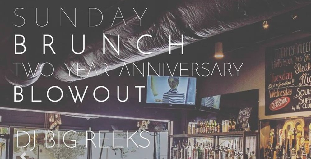 """Etta""""s 2 year Annivsary BRUNCH Blow Out Come help them celebrate the last two years! Music by DJ Big Reeks l Food l Atmoshphere  Cocktails + Carafes Crab Quiche That Oxtail Curry Fried Chicken Shrimp & Grits French Toast"""