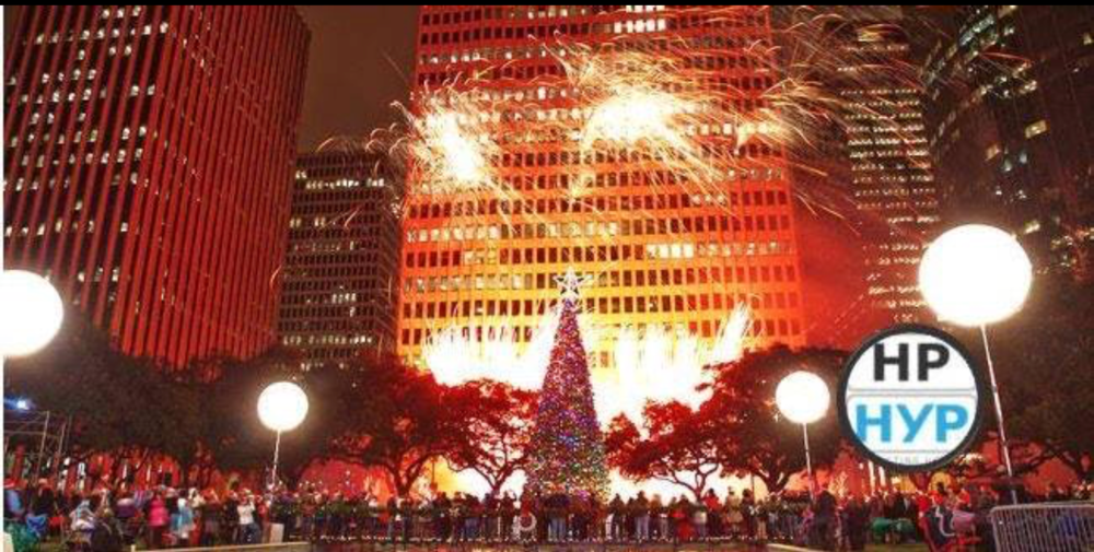 87th Annual Tree Lighting on Friday, December 1, 2017 in the heart of downtown Houston. The spectacular event is a holiday tradition of music, Santa, fireworks and family fun. A towering Holiday Tree, glowing with energy efficient LED lights, shimmering ornaments and a stunning star topper will light up the streets of downtown Houston this holiday season. The event takes place in Hermann Square at City Hall from 6:00 to 8:00 p.m. and is free and open to the public.  Parking is available for a fee the Theater District Tranquillity Garage   www.HoustonYOungProfessionals.com