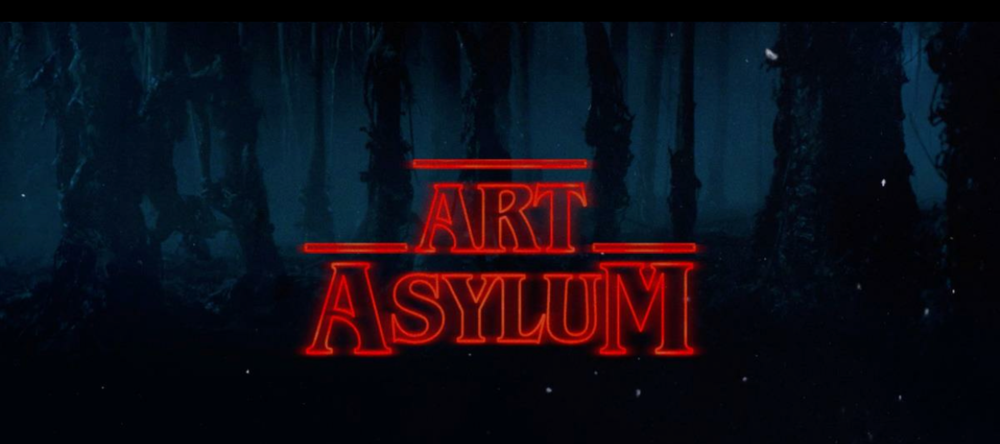"""The Texas Art Asylum is proud to present """"Stranger Things"""" art show.  The show dates are Saturday, December 2nd 2-9pm and Sunday, December 3rd from 1-5pm, at 1719 Live Oak, Houston, Texas."""